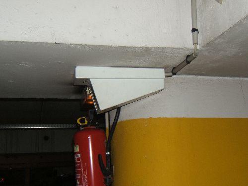 Les caméras du parking Montreuil
