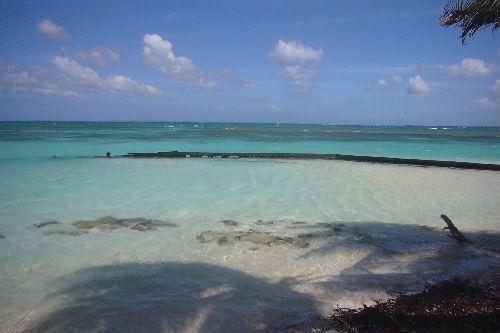 plage de sable fin de l\'ilet Caret