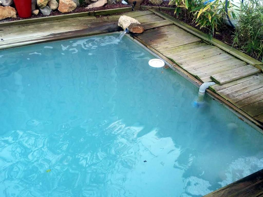 Entretien du bassin de nage en p riode hivernale la patience est de rigueur comment cr er - Piscine eau laiteuse ...