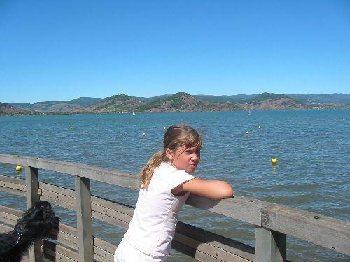 Lac de Salagou - Sarah