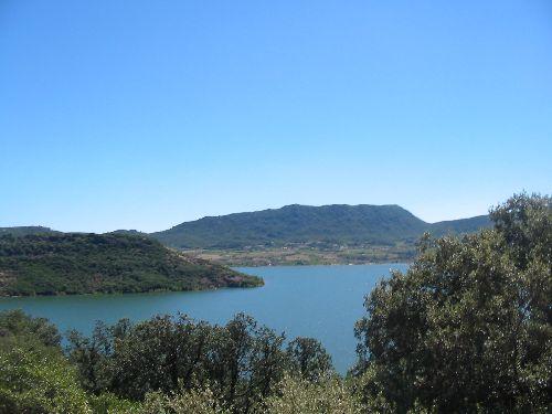 Le lac vu de haut