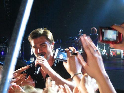 Juanes à Londres (04/05)