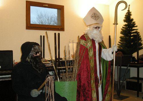 St Nicolas et Père Fouettard