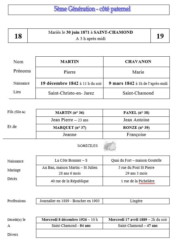 5e fiche 18-19