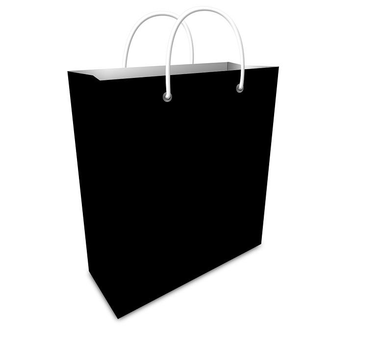 sac papier noir l 39 air du temps. Black Bedroom Furniture Sets. Home Design Ideas