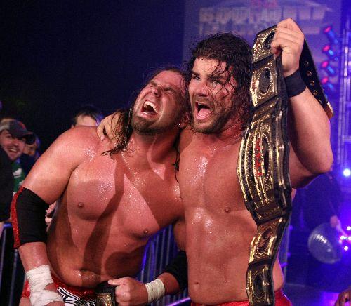 photos  TNA Beer Money divers