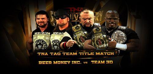 beer money vs  team 3D