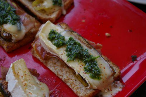 Tostada au jambon de bayonne