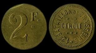 2 Francs 12è Bataillon de chasseurs Briançon.jpg