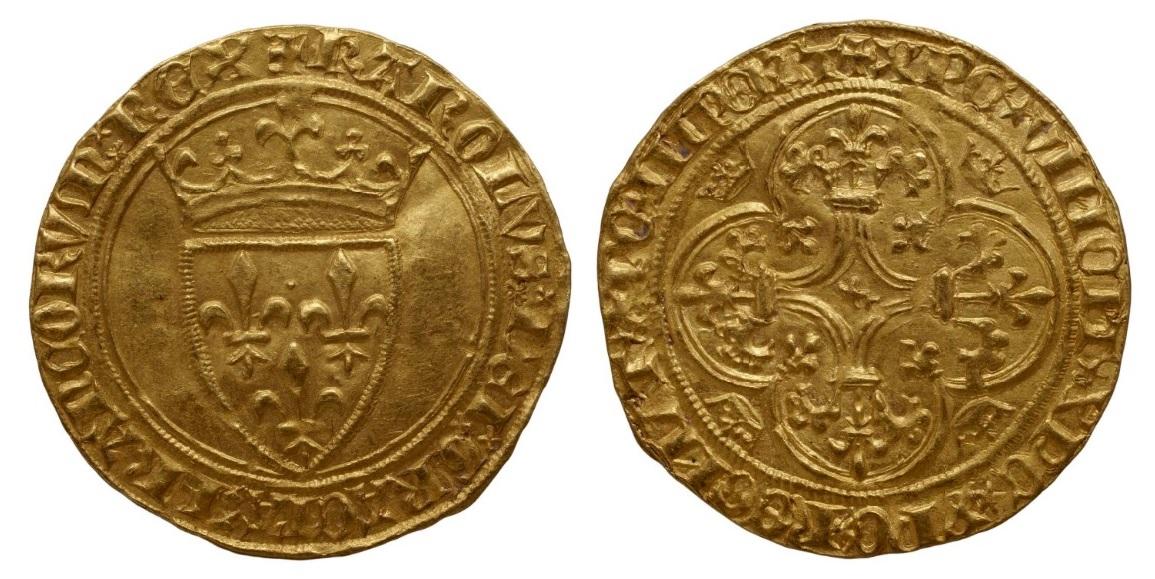 2-Charles VI-écu d'or-Embrun-Bnf.jpg