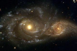 mariage de galaxie