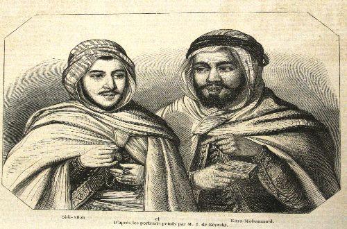 mes beaux-frères Sidi-Allal et Kara-Mohamed
