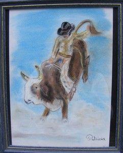 80 - Bull riding rodéo