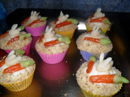 Bunny Cupcakes!!