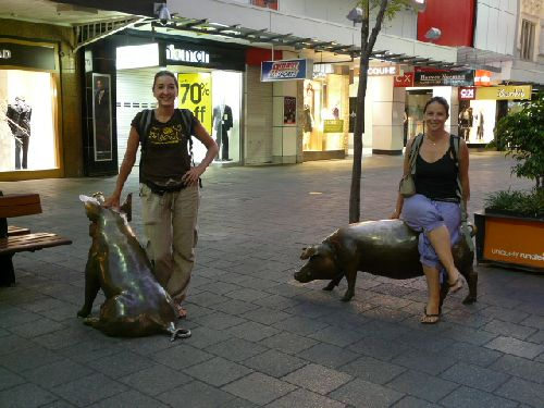 toujours Adelaide ( la ville nous a peu inspiree!)