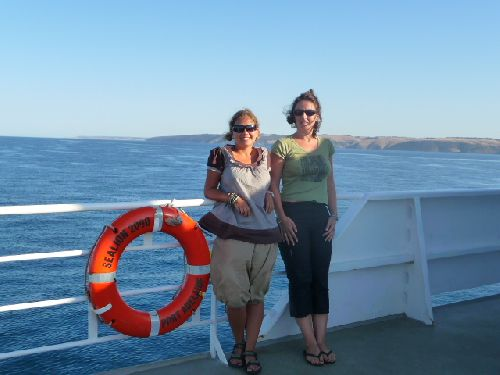 Depart pour Kangaroo Island