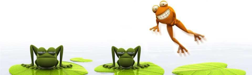 le monde des grenouilles