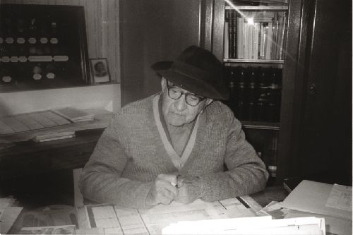 Adelin Moulis (Ph. Coll. privée - Ariège Magazine)