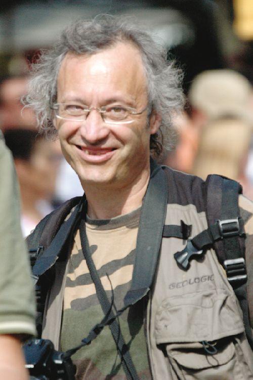 Jean Louis Gasc, également photographe (Ph. Laurent Crassous)