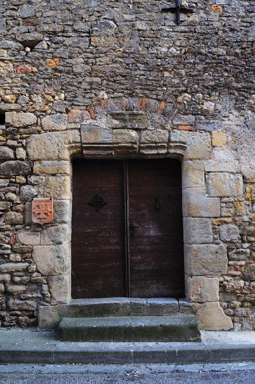Saint Félix de Lauraguais - Porte de l\'ancienne Commanderie des Templiers (Ph. Laurent Crassous)