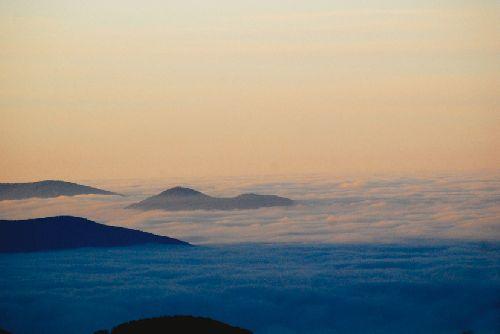 La mer de nuages (Ph. Laurent Crassous)