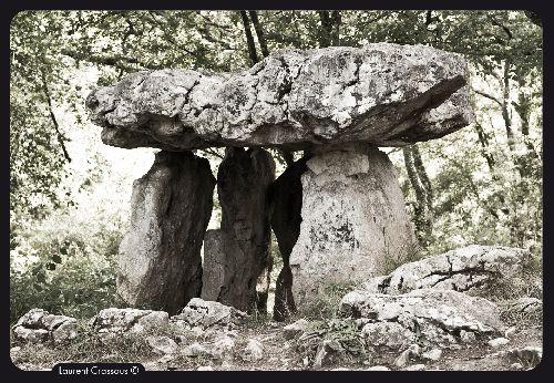 Dolmen du Cap del Pouech au Mas d'Azil (Ph. Laurent Crassous)