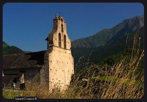 Eglise d'Arrein en Bethmale(Ph. Laurent Crassous)