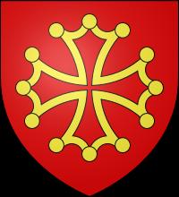 Blason des comtes de Toulouse
