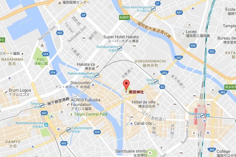 櫛田神社   GoogleMaps-001.jpg