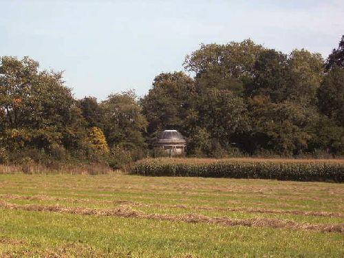 Vue d un petit dome du chateau de Beloeil