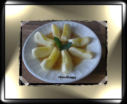 Pomme au Sirop de Miel