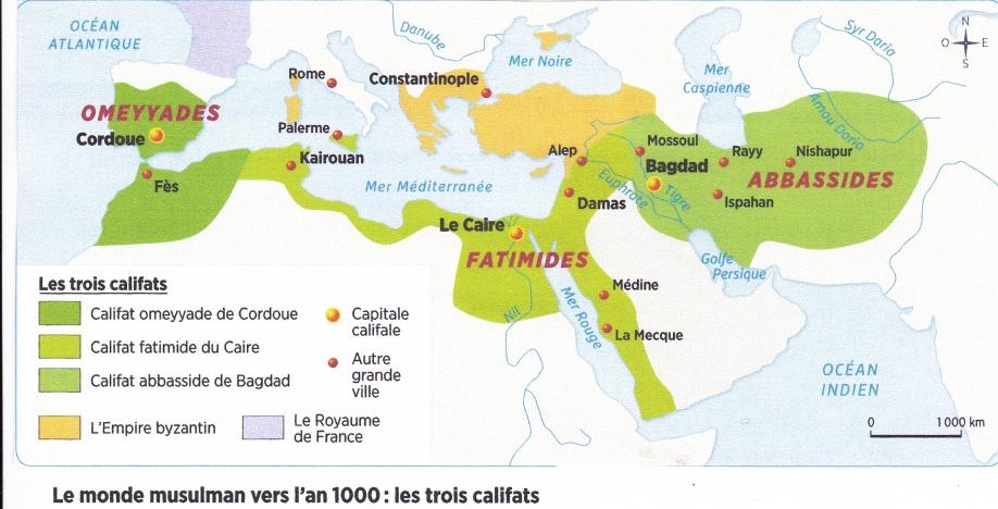 Empire musulman an 1000.jpg