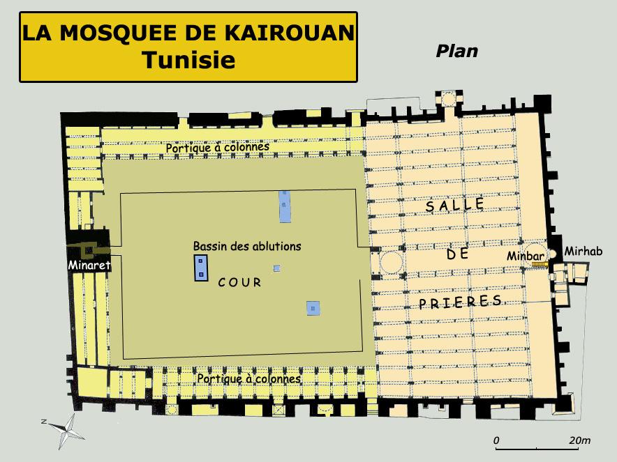 Kairouan. Mosquée plan 2.jpg