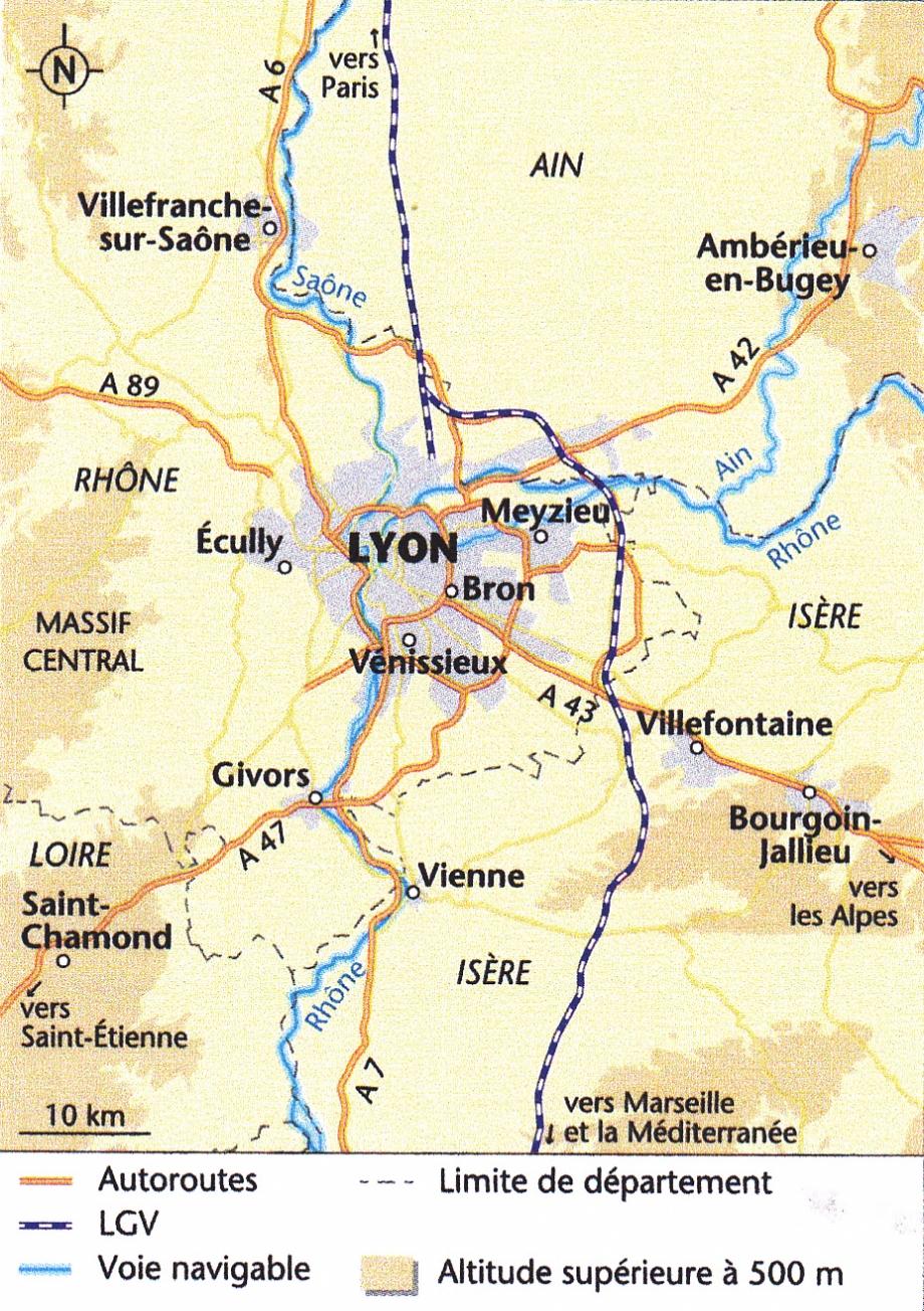 Lyon. Une ville au coeur de l'Europe. Carte.jpg