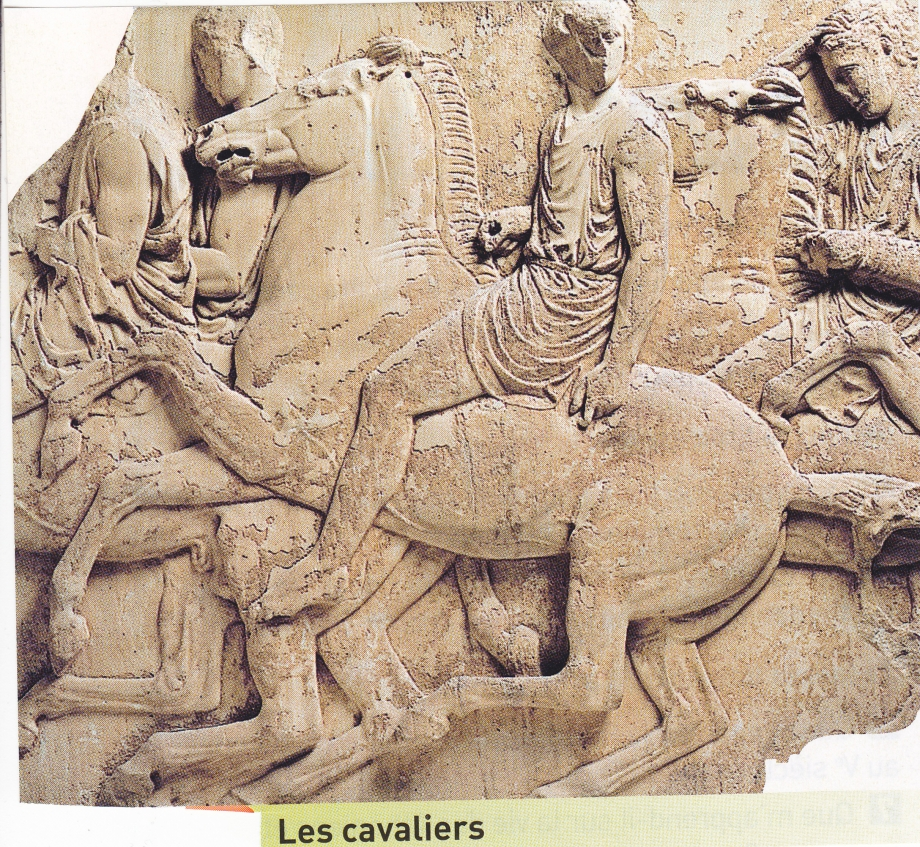 Athènes Parthénon. Frises panathénées 4.jpg