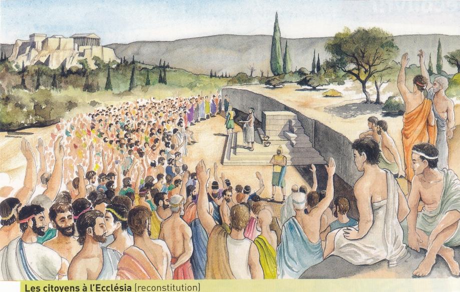 Athènes Ecclesia. Réunion reconstitution.jpg