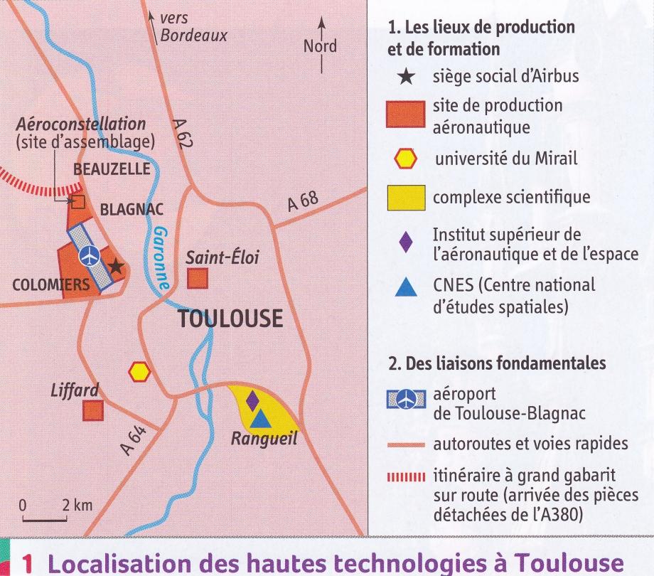 France. Toulouse localisation Higt Tech (carte).jpg