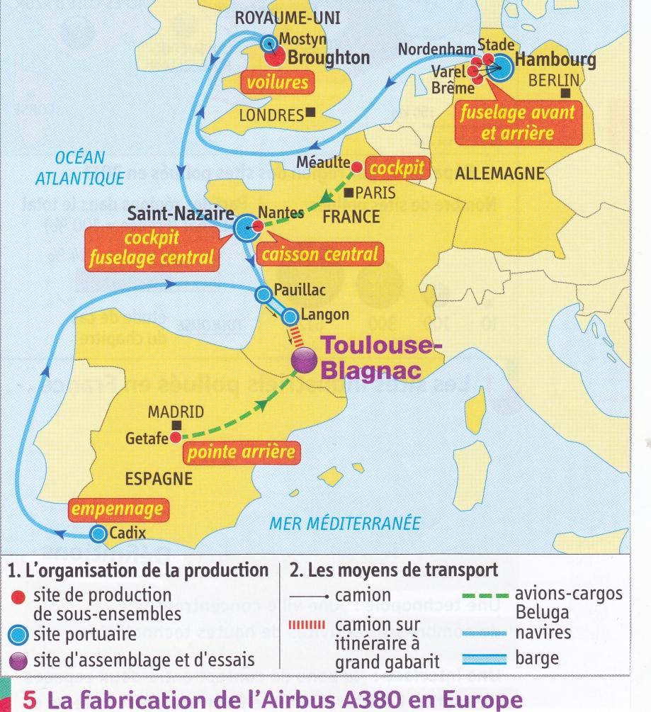 Airbus. Fabrication en Europe (carte).jpg