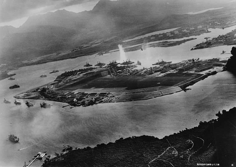 Pearl Harbour. Photo japonaise attaque.jpg