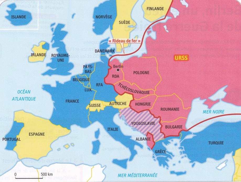 Europe. 1950. les deux blocs.jpg