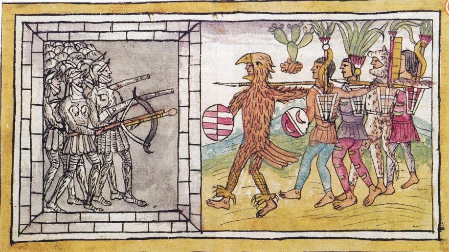 Aztèques contre Conquistadors.jpg