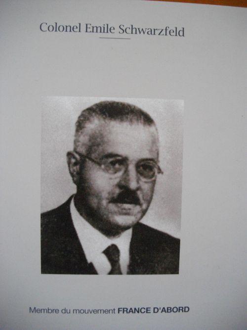 Colonel Emile Schwarzfeld (1885-1944).