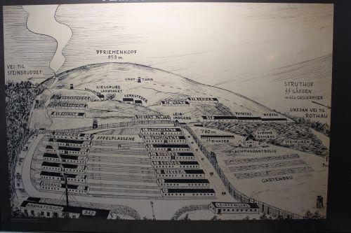 Plan allemand du camp