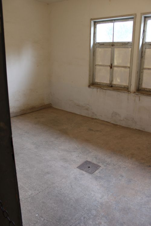 Salle d'exécution.