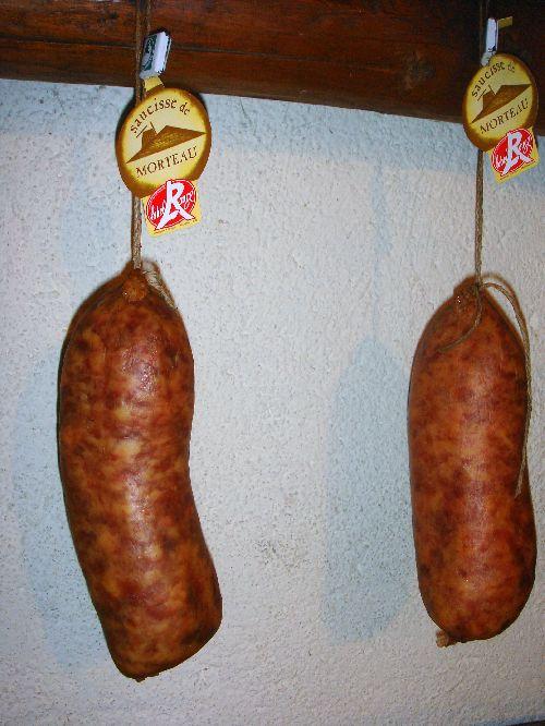 La saucisse de Morteau - Label rouge