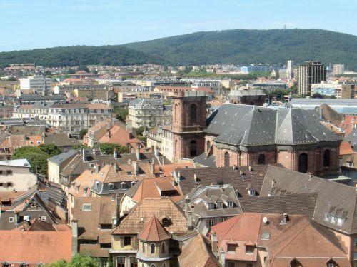 Belfort vu de sa citadelle
