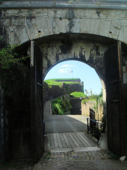 Promenade dans la citadelle de Belfort