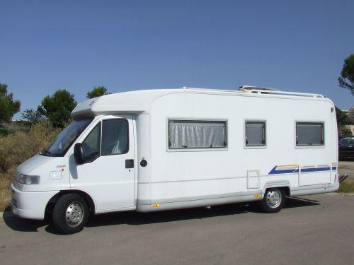 camping-car occasion profilé hymer à Perpignan