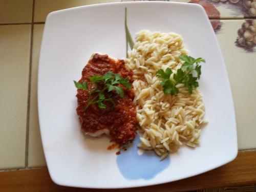 Dos de cabillaud en crumble de chorizo et parmesan 3.jpg