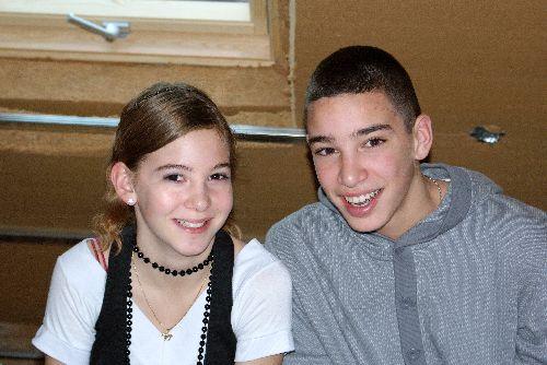 Océane et Samy sans scoubi